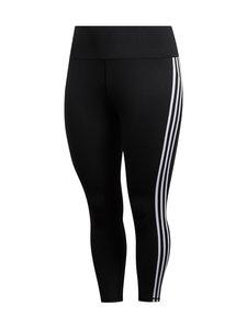 adidas Performance - Believe This 3-Stripes 7/8 Plus Size -treenitrikoot - BLACK/WHITE | Stockmann