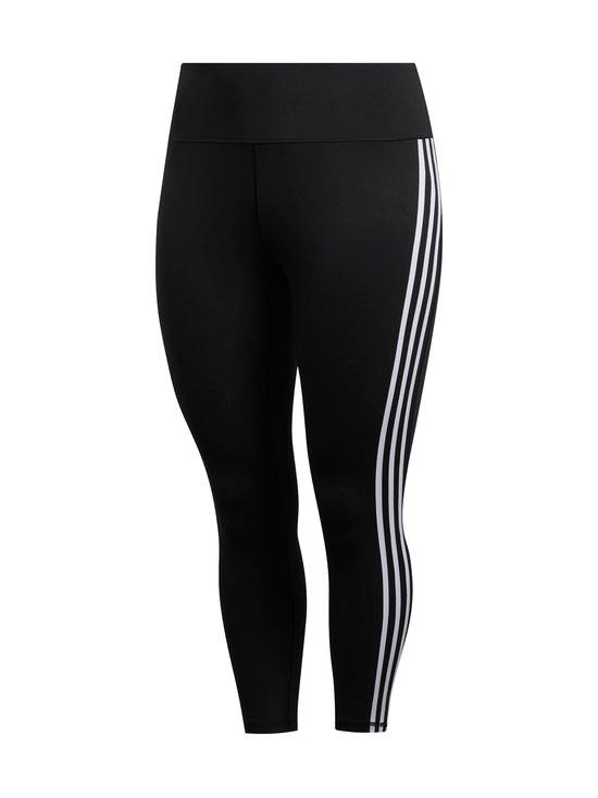 adidas Performance - Believe This 3-Stripes 7/8 Plus Size -treenitrikoot - BLACK/WHITE | Stockmann - photo 1