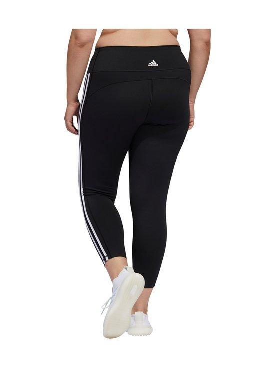 adidas Performance - Believe This 3-Stripes 7/8 Plus Size -treenitrikoot - BLACK/WHITE   Stockmann - photo 3