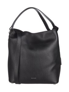 Balmuir - Eyleen Bucket Bag -nahkalaukku - BLACK/SILVER | Stockmann