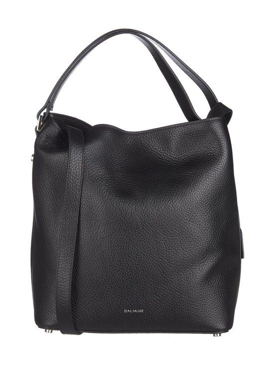 Balmuir - Eyleen Bucket Bag -nahkalaukku - BLACK/SILVER | Stockmann - photo 1