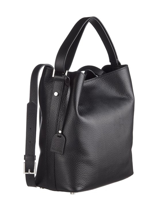 Balmuir - Eyleen Bucket Bag -nahkalaukku - BLACK/SILVER | Stockmann - photo 2