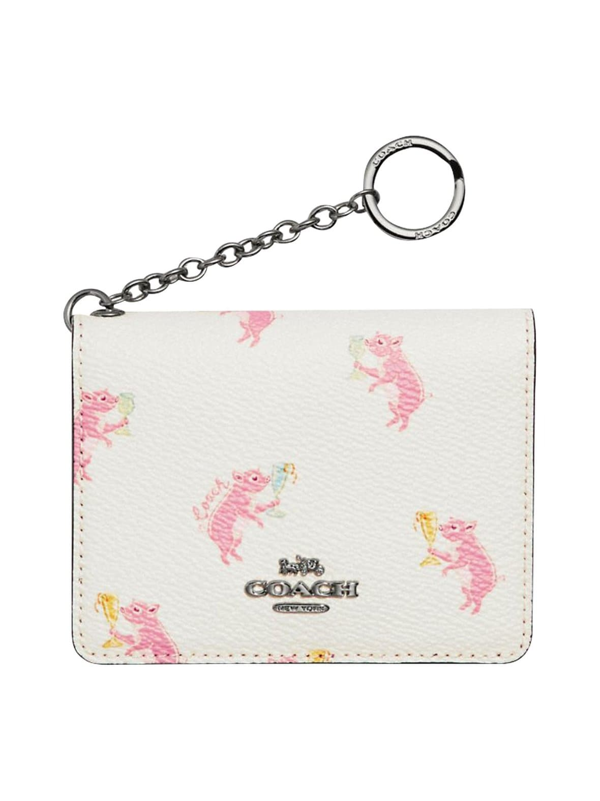 Coach – Key Ring Card Case -korttikotelo