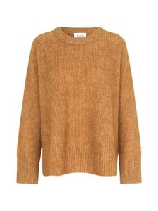SECOND FEMALE - Brooky Knit O-Neck -neule - 6051 BROWN SUGAR | Stockmann
