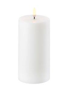 UYUNI - Pillar LED -pöytäkynttilä 8 x 15 cm - NORDIC WHITE | Stockmann
