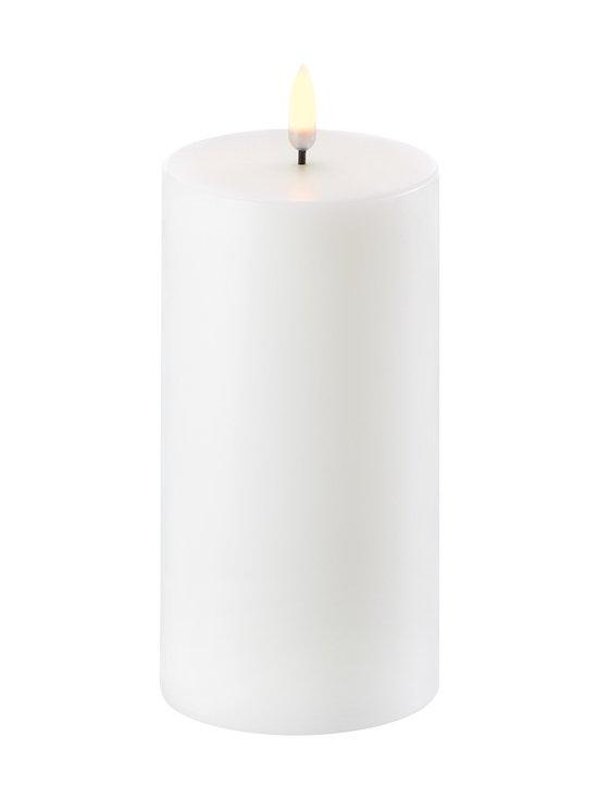UYUNI - Pillar LED -pöytäkynttilä 8 x 15 cm - NORDIC WHITE | Stockmann - photo 1