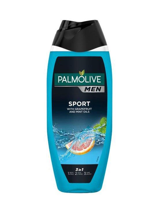 Palmolive - Men Sport 3 in 1 Shower Gel -suihkugeeli 500 ml - NOCOL | Stockmann - photo 1