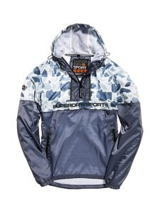 Superdry Sport - Urban Camo Overhead Jacket -takki - EME WHITE CAMO | Stockmann
