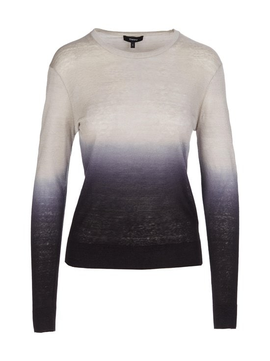 Theory - Ombré Crewneck Sweater -neule - GREY/NAVY - PDC | Stockmann - photo 1