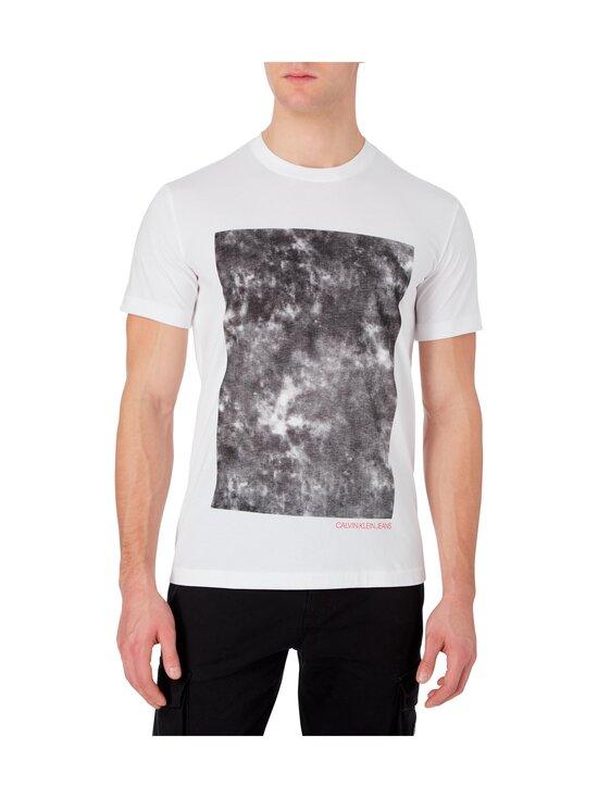 Calvin Klein Jeans - Cloud Photoprint Tee -paita - YAF BRIGHT WHITE   Stockmann - photo 3