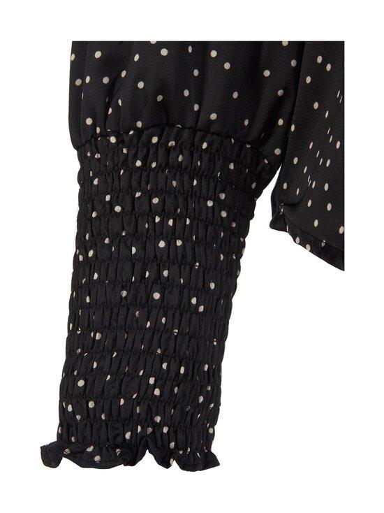Neo Noir - Landa Small Dot Blouse -pusero - 100 BLACK | Stockmann - photo 3