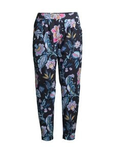 Damella - Flower-pyjamahousut - 020 020 NAVY | Stockmann