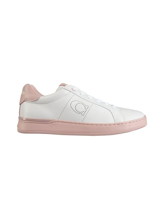 Coach - Lowline Low Top -nahkasneakerit - 6RL WHITE/AURORA | Stockmann - photo 1