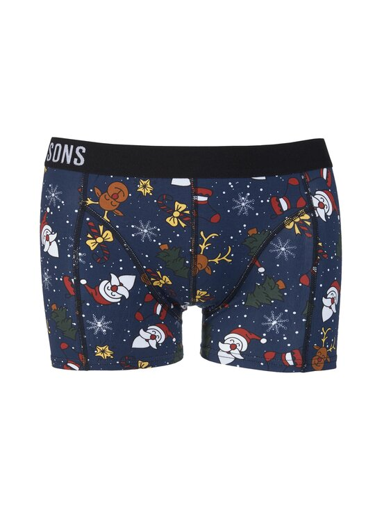 Only & Sons - OnsRudolph Print Trunk -bokserit 3-pack - CLOUD DANCER PACK:+ DRESS B+ GRAY P | Stockmann - photo 2