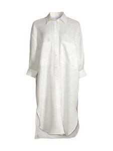 Imperial - Linen Shirt Dress -pellavamekko - 1100 BIANCO   Stockmann