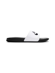 Nike - Benassi JDI -sandaalit - WHITE/BLACK-BLACK 100 | Stockmann