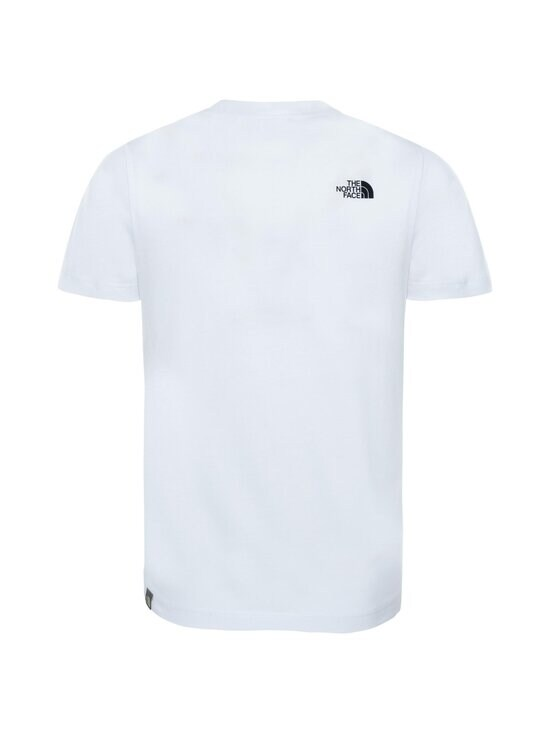 The North Face - Y S/S Easy Tee -paita - TNF WHITE/TNF BLACK | Stockmann - photo 2