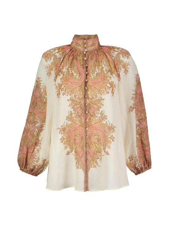 Zimmermann - Brighton Paisley -pusero - SHERBET PAISLEY SHPA | Stockmann - photo 1
