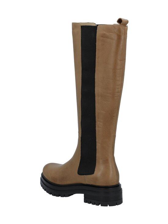 BIANCO - Biadarlene Chelsea Long Boot -nahkasaappaat - 266 BEIGE 6   Stockmann - photo 2
