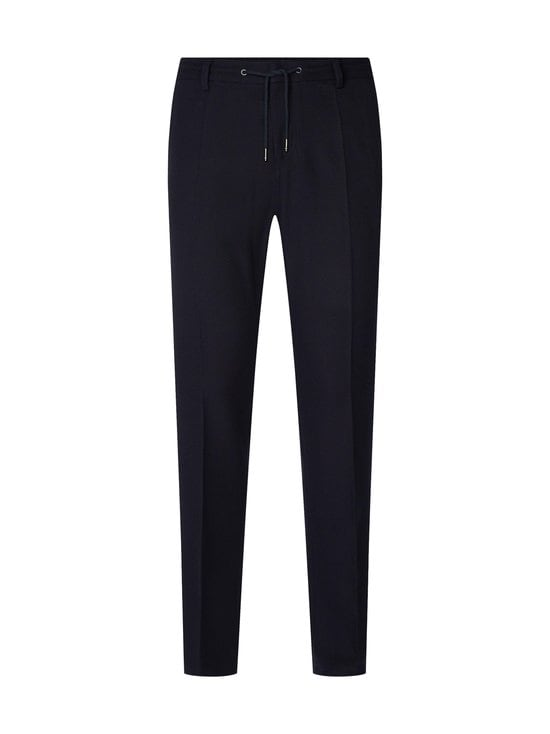 Tommy Hilfiger Tailored - Structure Drawstring Slim Pant -housut - DW5 DESERT SKY | Stockmann - photo 1
