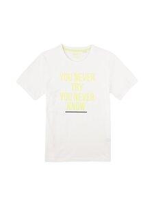 Sanetta - Athleisure Skate T-Shirt -paita - 1948 WHITE PEBBLE | Stockmann