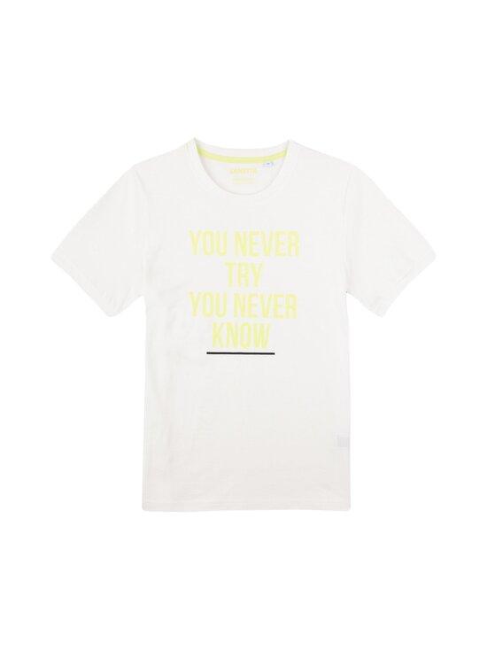 Sanetta - Athleisure Skate T-Shirt -paita - 1948 WHITE PEBBLE | Stockmann - photo 1
