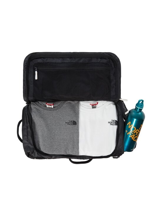The North Face - Base Camp Voyager Duffel 32 L -laukku - KY41 TNF BLACK/TNF WHITE | Stockmann - photo 4