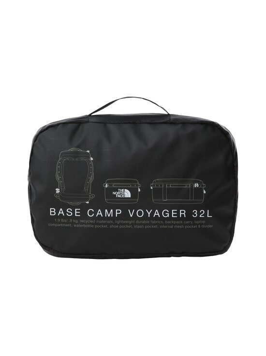 The North Face - Base Camp Voyager Duffel 32 L -laukku - KY41 TNF BLACK/TNF WHITE | Stockmann - photo 6