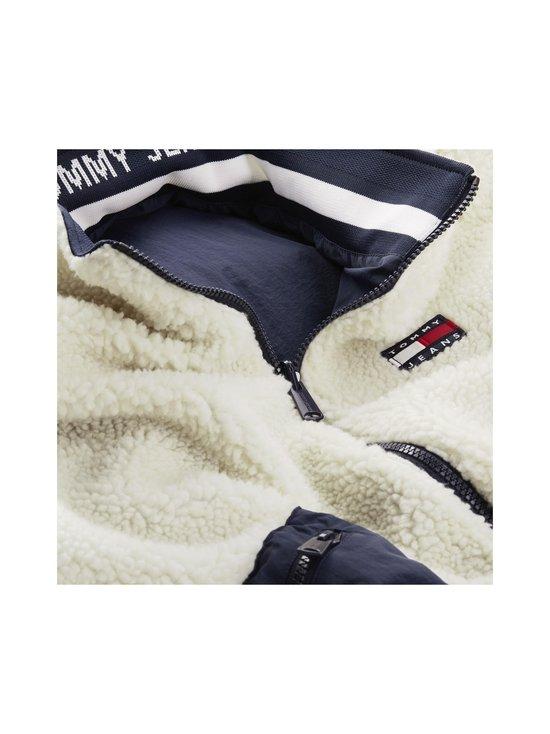 Tommy Jeans - TJW Reversible Sherpa -takki - C87 ECRU / TWILIGHT NAVY | Stockmann - photo 3