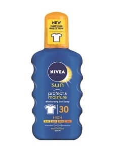 NIVEA - Nivea Sun Protect & Moisture Sun Spray SK30 -aurinkosuojasuihke 200 ml - null | Stockmann