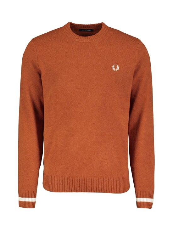 Fred Perry - Tipped Crew Neck Jumper -villaneule - 946 PAPRIKA | Stockmann - photo 1