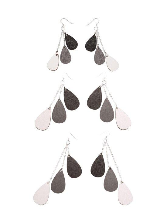 Uhana - Drops Classics -korvakorut, lyhyt 9,5 cm - WHITE | Stockmann - photo 1
