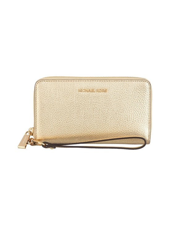 Michael Michael Kors - Jet Set Large Flat -nahkalompakko - GOLD | Stockmann - photo 1