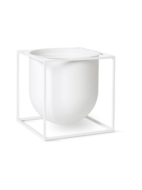 By Lassen - Kubus Flowerpot 23 -ruukku - WHITE | Stockmann - photo 1