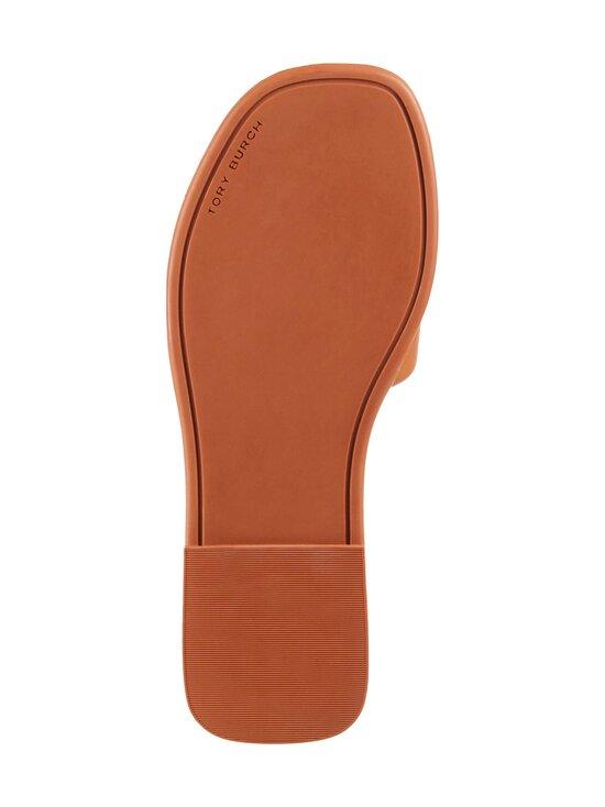 Tory Burch - Double T Sport Slide Flat -sandaalit - 268 CAMELLO / GOLD | Stockmann - photo 3