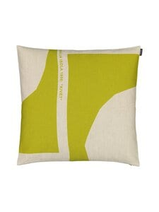 Marimekko - MM Co-Created -tyynynpäällinen 50 x 50 cm - PELLAVA/VIHREÄ | Stockmann