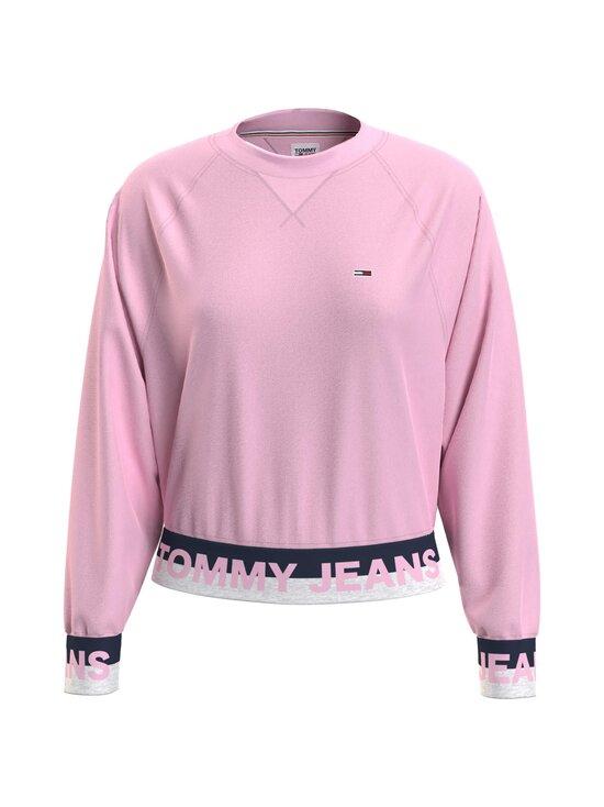 Tommy Jeans - TJW Branded Hem Sweatshirt -collegepaita - TOJ ROMANTIC PINK   Stockmann - photo 1