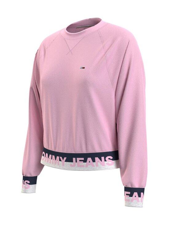 Tommy Jeans - TJW Branded Hem Sweatshirt -collegepaita - TOJ ROMANTIC PINK   Stockmann - photo 3