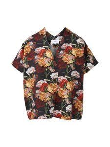Makia - Makia x Von Wright Flowers Kaftan Shirt -paita - BLACK | Stockmann