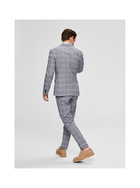 Selected - SlhSlim-Will -bleiseri - DARK BLUE CHECKS:BLUE/SAND | Stockmann - photo 3