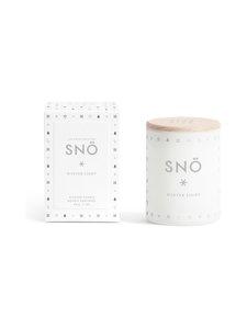 Skandinavisk - Snö Mini -tuoksukynttilä - WHITE/SILVER | Stockmann