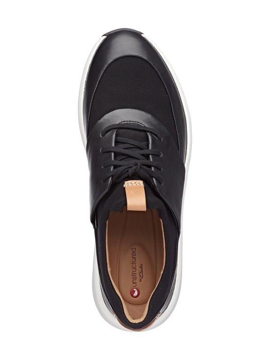 Clarks - Un Rio Lace -nahkasneakerit - BLACK | Stockmann - photo 2
