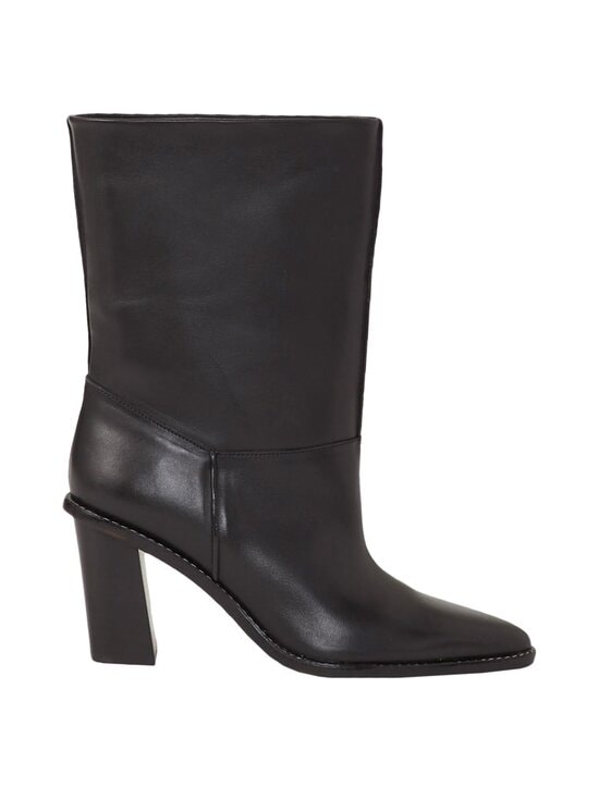 Kenzo - K-Mount Boot High Heeled Mid -nahkasaappaat - 99 BLACK | Stockmann - photo 1
