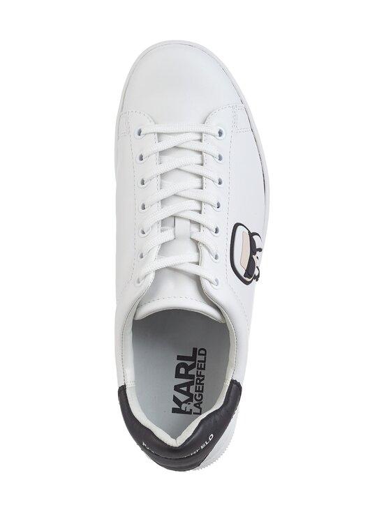 Karl Lagerfeld - Kourt Karl Ikonic 3D -nahkasneakerit - WHITE 011 | Stockmann - photo 2