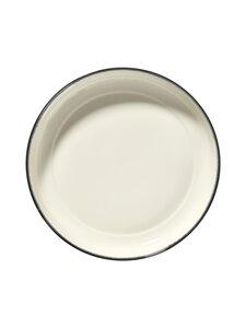 Serax - Dé Tableware by Ann Demeulemeester -syvä lautanen 27 cm - OFF-WHITE/BLACK | Stockmann