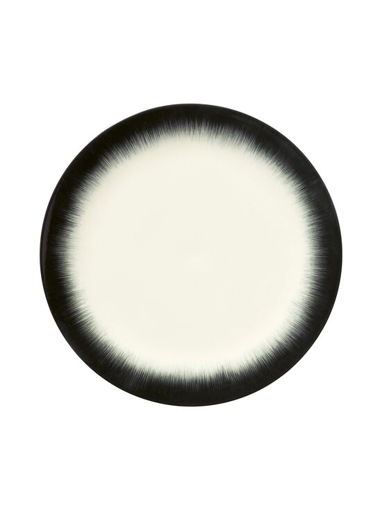 Serax - Dé Tableware by Ann Demeulemeester -lautanen 28 cm - OFF-WHITE/BLACK | Stockmann - photo 1