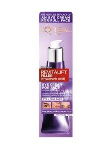 L'Oréal Paris - Revitalift Filler Face Cream -Silmänympärysvoide koko kasvoille | Stockmann