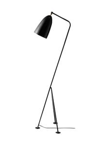 Gubi - Gräshoppa Floor Lamp -lattiavalaisin 125 cm - JET BLACK | Stockmann