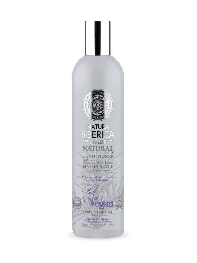 Natural Hair Conditioner Volume and Nourishment -hoitoaine 400 ml