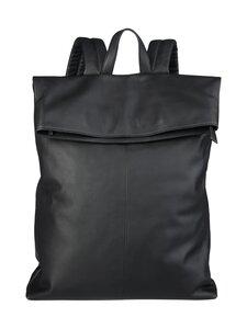 CONSTRUE - Simon Folded Backpack -nahkareppu - BLACK | Stockmann